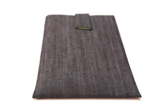 Apple iPad Pro 10.5 (2017) case sleeve pouch dark denim with magnetic closure