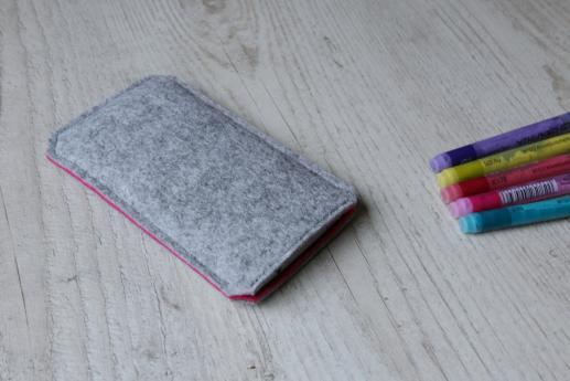 Motorola Moto X 2014 sleeve case pouch light felt pocket