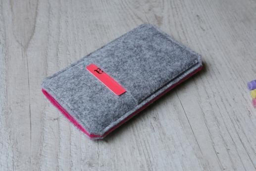 Motorola Moto Z Play sleeve case pouch light felt pocket