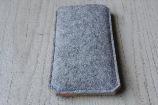 Samsung Galaxy S6 edge+ sleeve case pouch light felt