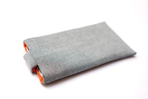 Xiaomi Redmi 2 Prime sleeve case pouch light denim with magnetic closure