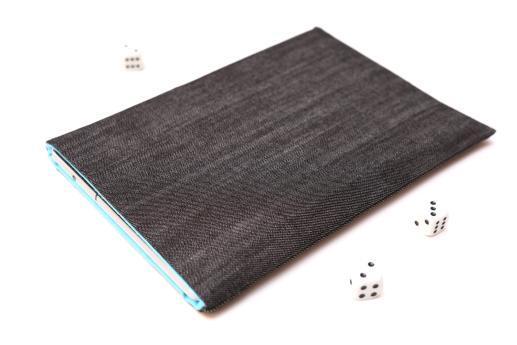 Apple iPad Mini 4 case sleeve pouch dark denim
