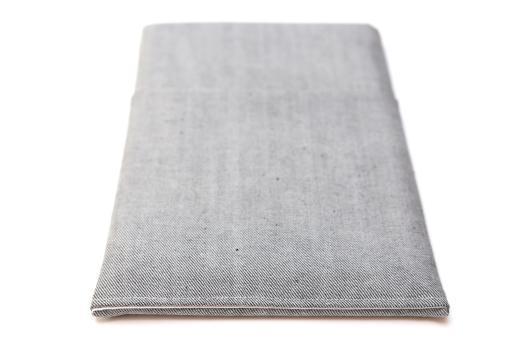 Apple iPad Mini 2 case sleeve pouch light denim with pocket