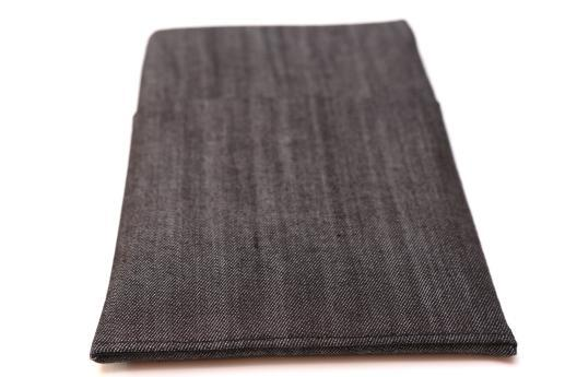 Kindle Fire HDX case sleeve pouch dark denim with pocket