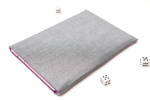 Kindle Fire HD 8.9 case sleeve pouch light denim