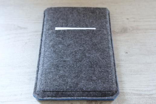 Kindle Fire HD case sleeve pouch dark felt pocket