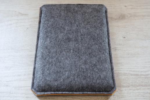 Fire HD 8 case sleeve pouch dark felt