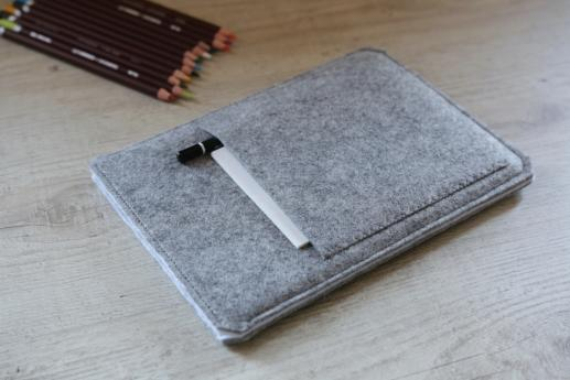 Samsung Galaxy Tab A 8.0 case sleeve pouch light felt pocket