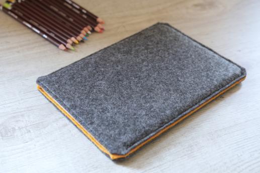 Samsung Galaxy Tab E 9.6 case sleeve pouch dark felt