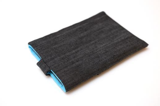 Kindle Paperwhite sleeve case ereader dark denim with magnetic closure and pocket