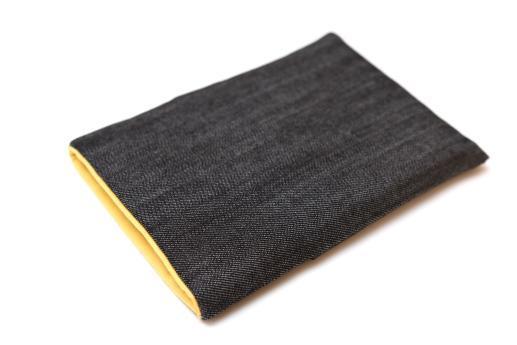 Kindle Paperwhite sleeve case ereader dark denim with pocket