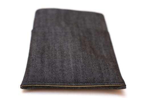 Kindle Paperwhite sleeve case ereader dark denim with pocket