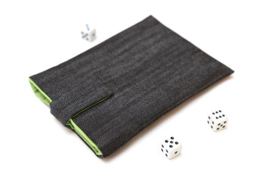 Kindle Paperwhite sleeve case ereader dark denim with magnetic closure