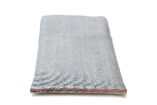 Kindle Paperwhite sleeve case ereader light denim with pocket