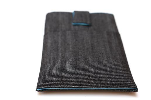 Kobo Touch sleeve case ereader dark denim with magnetic closure and pocket