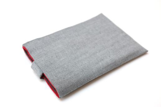 Kobo Aura ONE sleeve case ereader light denim with magnetic closure