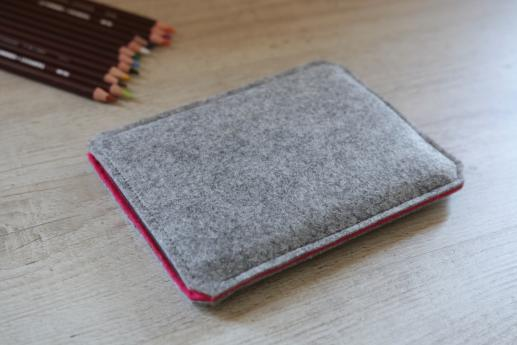 Kobo Glo sleeve case ereader light felt pocket black arrow pattern