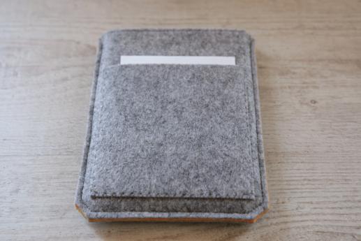 Kobo Glo sleeve case ereader light felt pocket