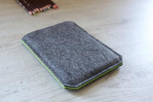 Kobo Glo HD sleeve case ereader dark felt