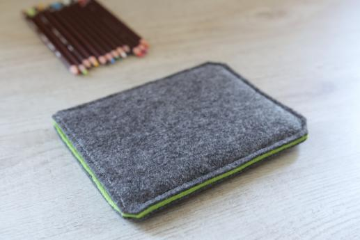Kobo Aura HD sleeve case ereader dark felt
