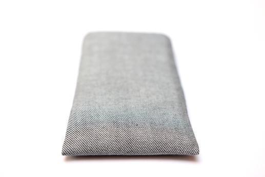 Apple iPhone X sleeve case pouch light denim