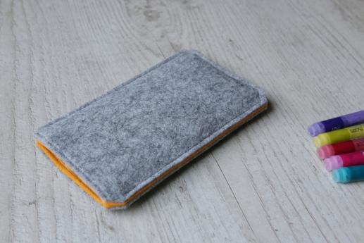 HTC 10 sleeve case pouch light felt