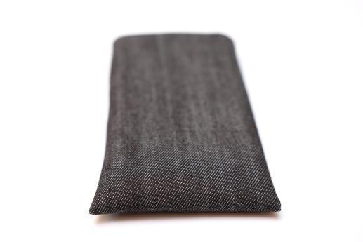 LG Q70 sleeve case pouch dark denim